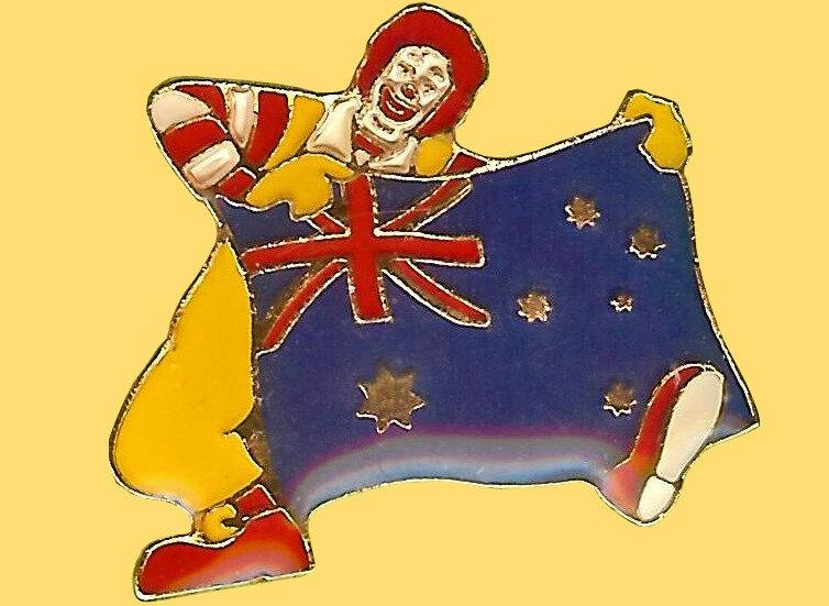 Pin's Australie 2