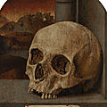 Anonymous (Southern Netherlands), Vanitas Still Life, c. 1530?, oil on panel, 34.2 x 26 cm. © 2019 Mauritshuis ------WebKitFormBoundaryJaIWhECP5ewAtAhY Content-Disposition: form-data; name=