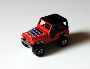 Jeep 4x4 de chez Majorette (1