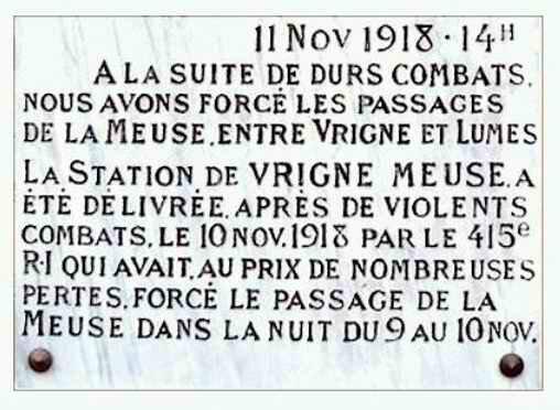 Plaque Vigné-Meuse