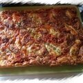 Pizza liquide au jambon fromage