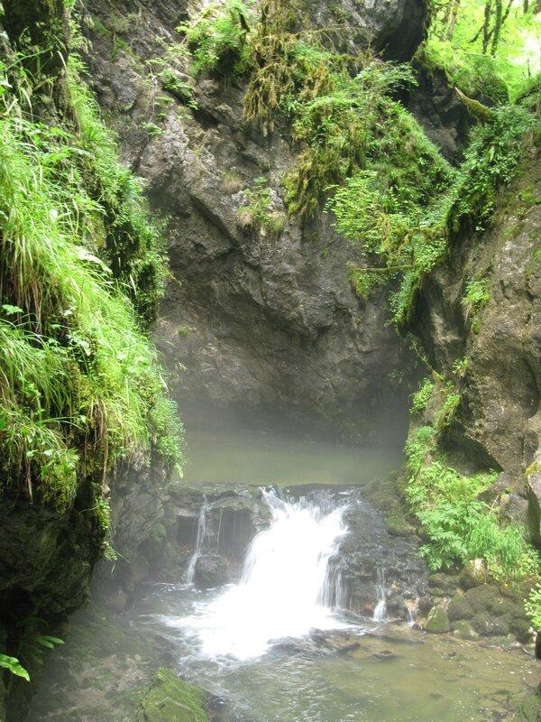 Gorges de l'Abîme - Marmitte de géant
