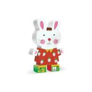 Boutique jeux de société - Pontivy - morbihan - ludis factory - Djeco puzzle tarte de maman lapin