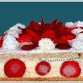 fraisier des 15 ans