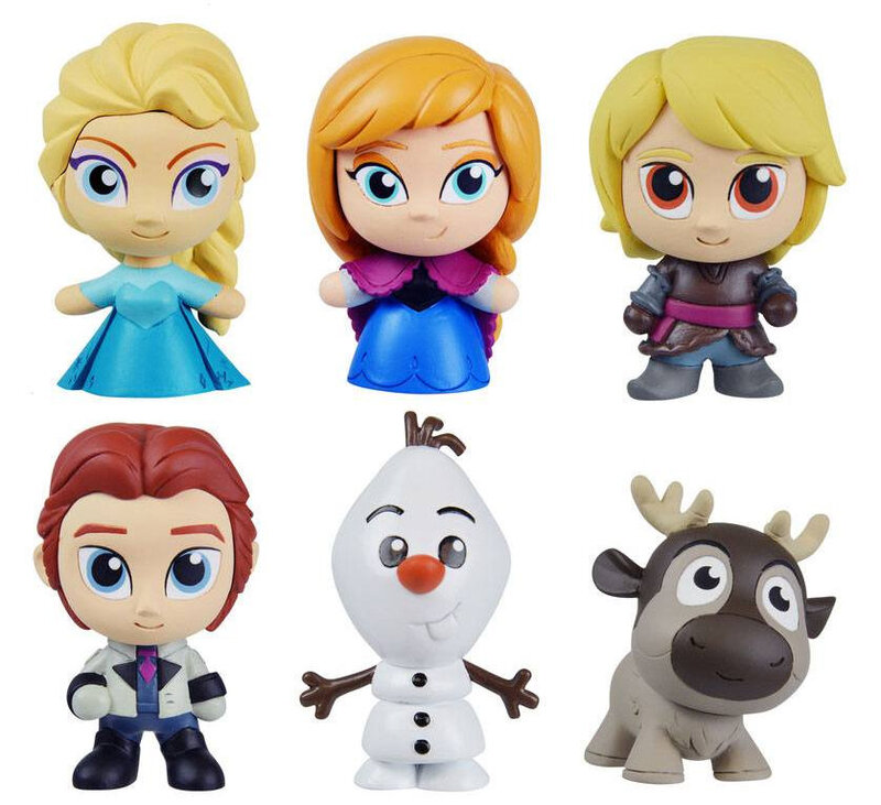 Frozen cute buildable figure