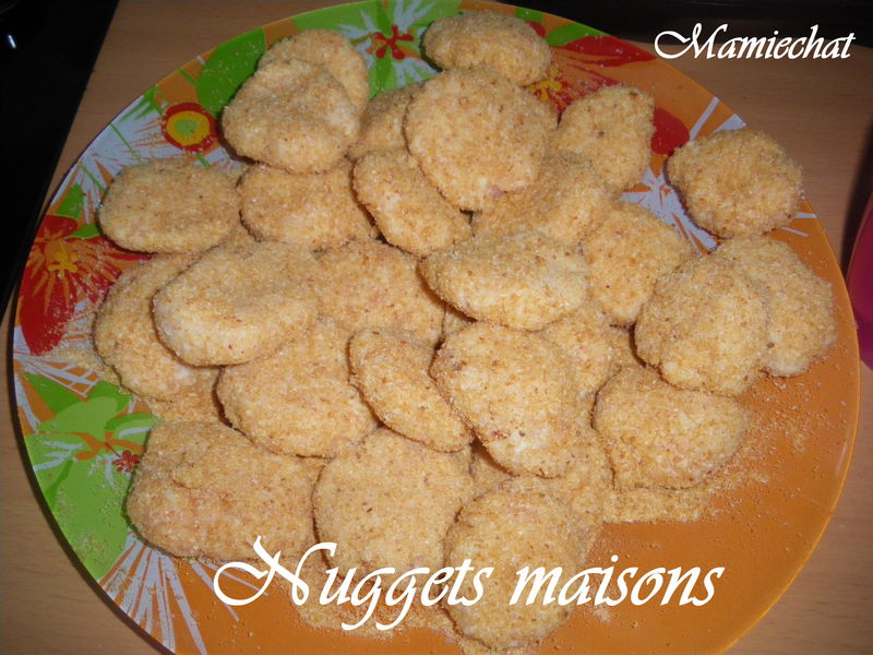 Nuggets maisons