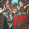 La tête de St Jean Baptiste sur un plat d'argent