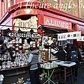 Portobello road et son marché, londres