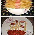 Spaghetti aux knacki