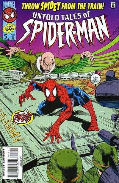 Untold tales of Spiderman by Kurt Busiek & Pat Olliffe
