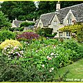 Bibury, village pittoresque des cotswolds