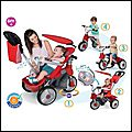 Tricycle baby trike easy evolution 4 en 1 - oxybul