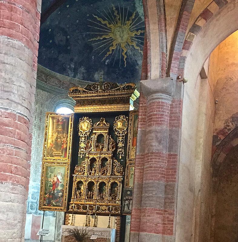 abbazia di Santa Maria di Staffarda : retable