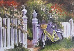 1-bicycle-on-fence-melinda-saminski