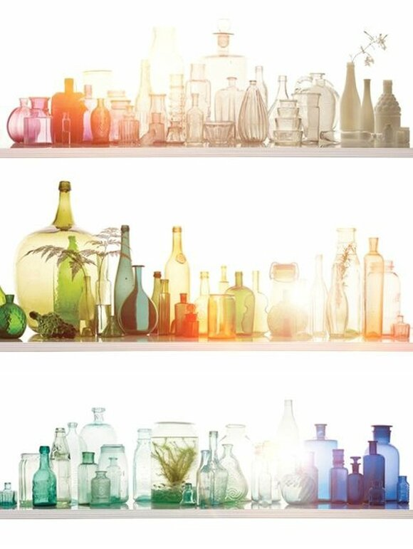 Colorful-Glass-Bottles