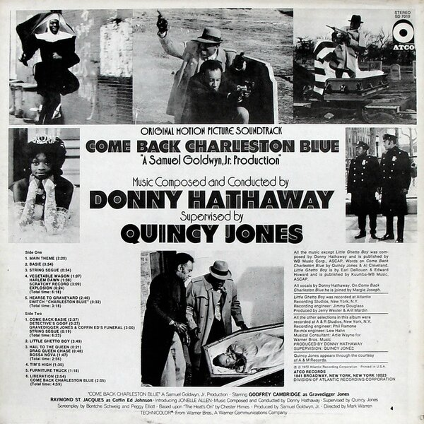 Donny Hathaway and Quincy Jones - Come Back Charleston Blue (1972) -2