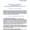 Addictions et travail : aspects juridiques. 32ème congrès national de médecine et de santé au travail - istnf