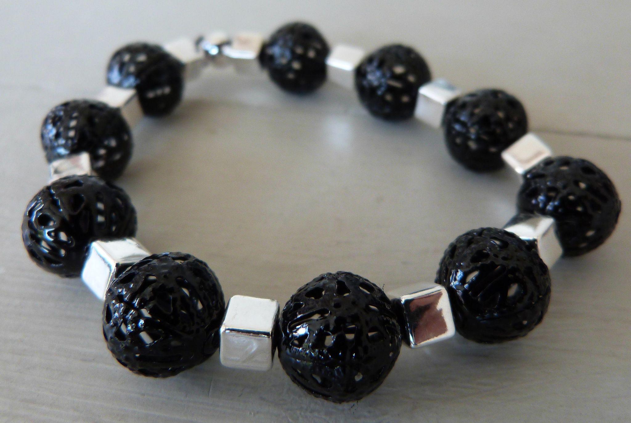 Bracelet Perles ajourées