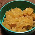Compote de pommes au sirop d'érable