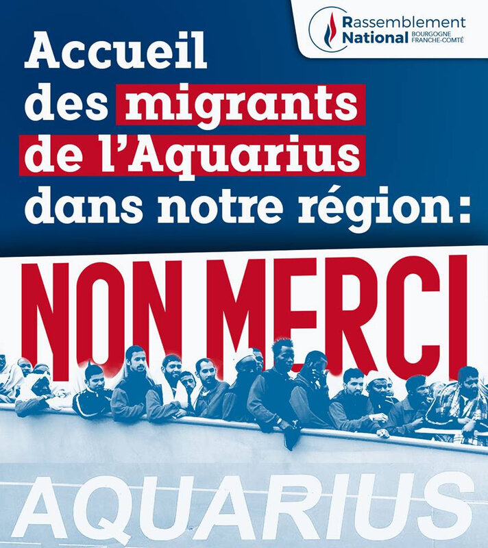 Aquarius non merci