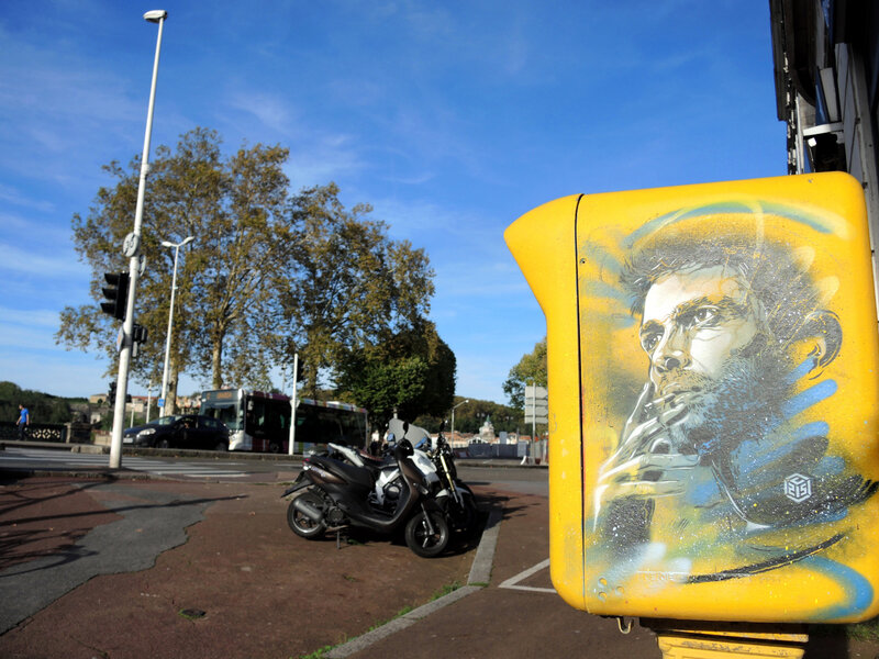 Bayonne, Festival Street Art Point de vue 2017, C215 (67)