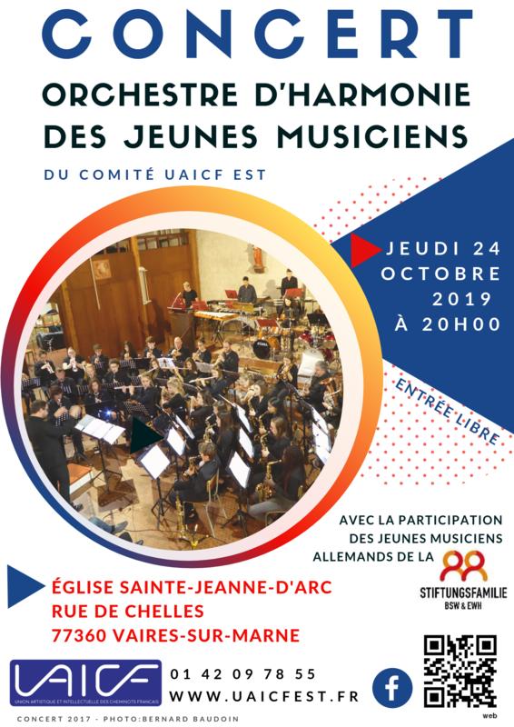Affiche concert OJ 2019
