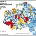 Atlas du sud-est du val de marne (2) : la répartition des emplois et des actifs par quartiers et communes en 2006-2008