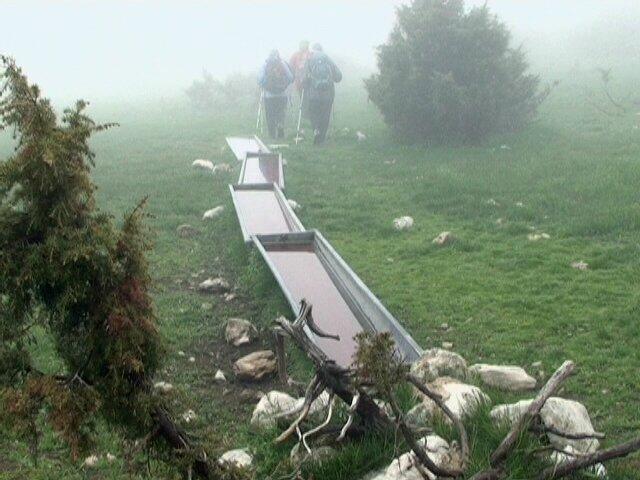 bassins d'alpage