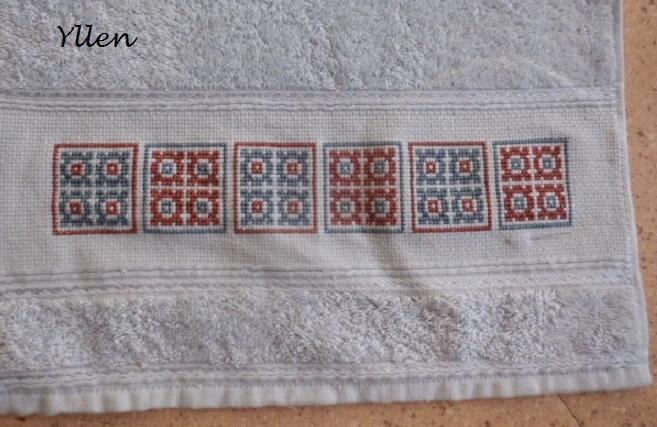 broderie serviette yllen