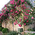 C'est un village extraordinaire qui sent la rose et le printemps…
