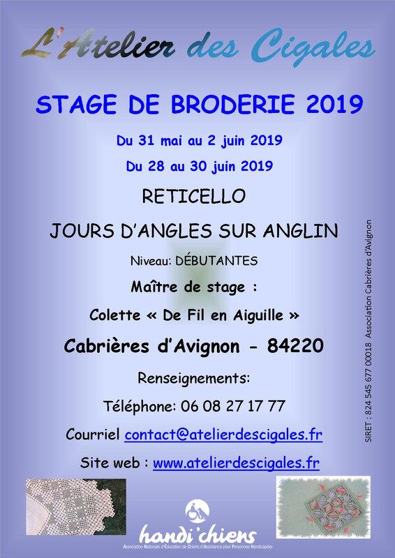 Cigales_afficheStage_2019_mai_juin