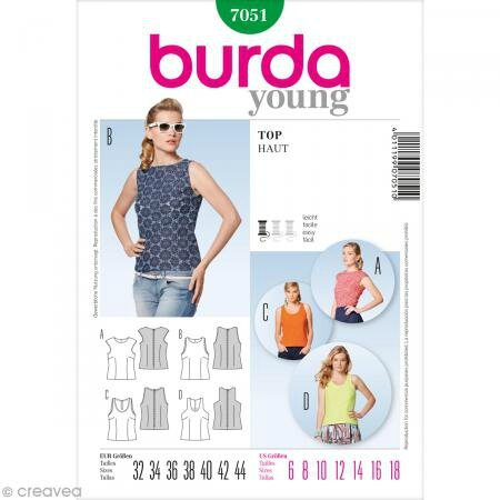 burda young pochette