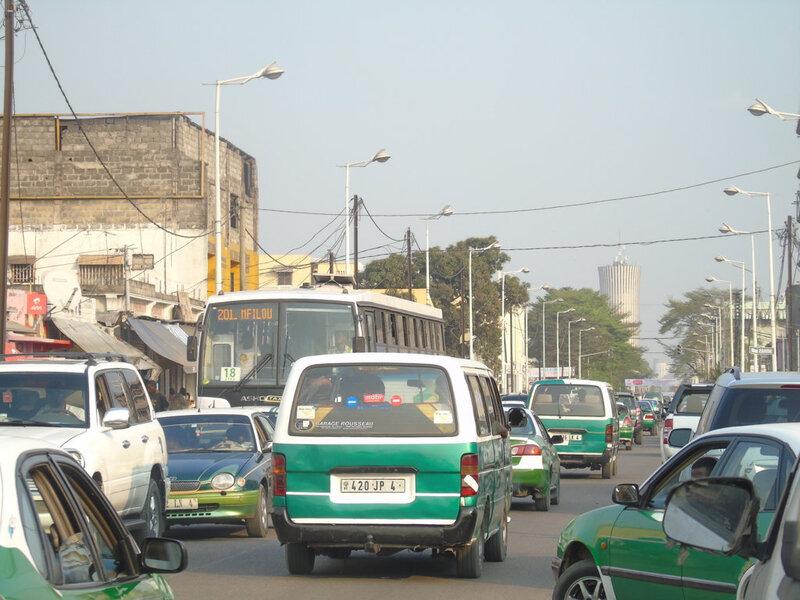 adiac libre circulation à Brazza