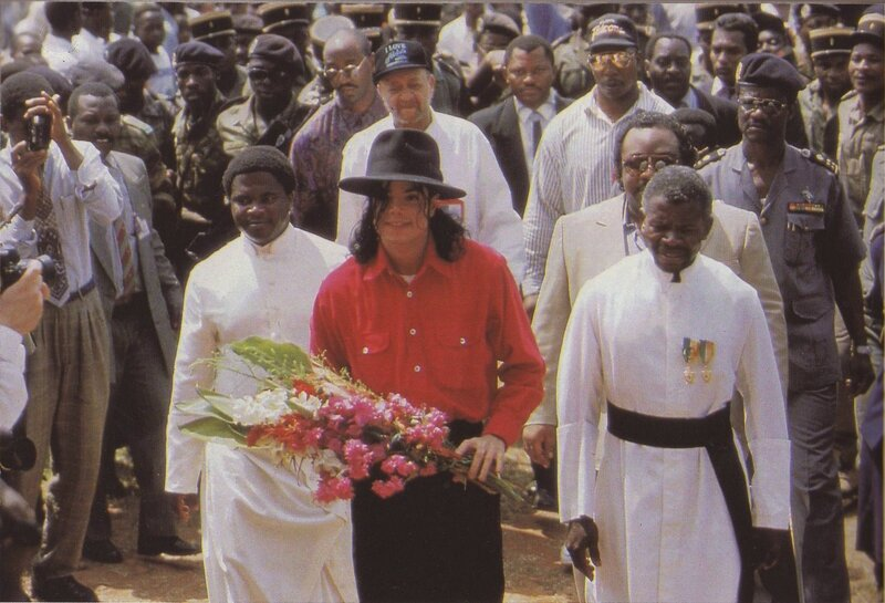 Michael visits The Christian Mission of St Therese d'Ango in Africa, founded in the 1920s by Christian missionaries