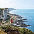 Gr21 ou la côte d'albâtre normande à pied: élu chemin de grande randonnée préféré des français en 2020