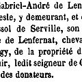 Lenfernat Gabriel André_Donation 1767_Archives départementales de l'Yonne