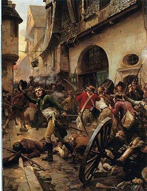 Combats de Cholet de Paul Emile Boutigny