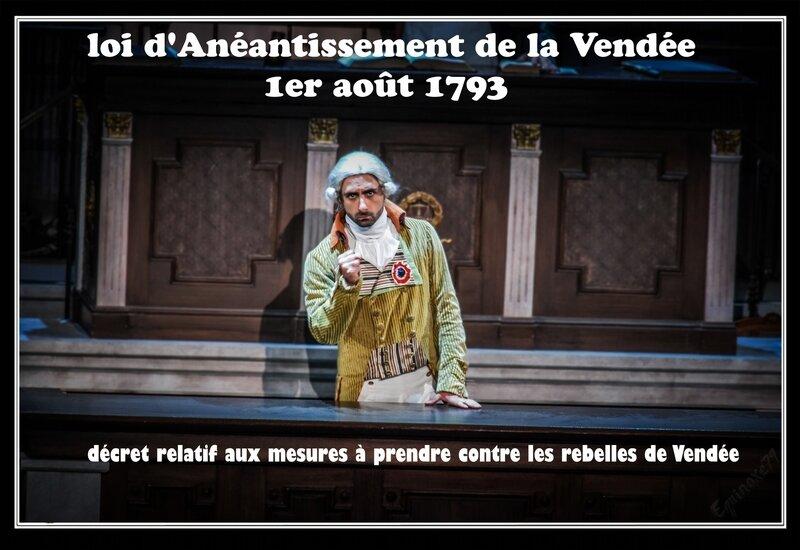 guerre de vendée dernier panache puy du fou Le décret relatif aux mesures à prendre contre les rebelles de Vendée Révolution française (2)