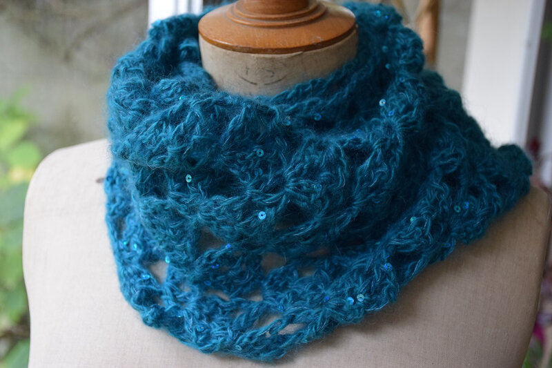 snood bleu 2