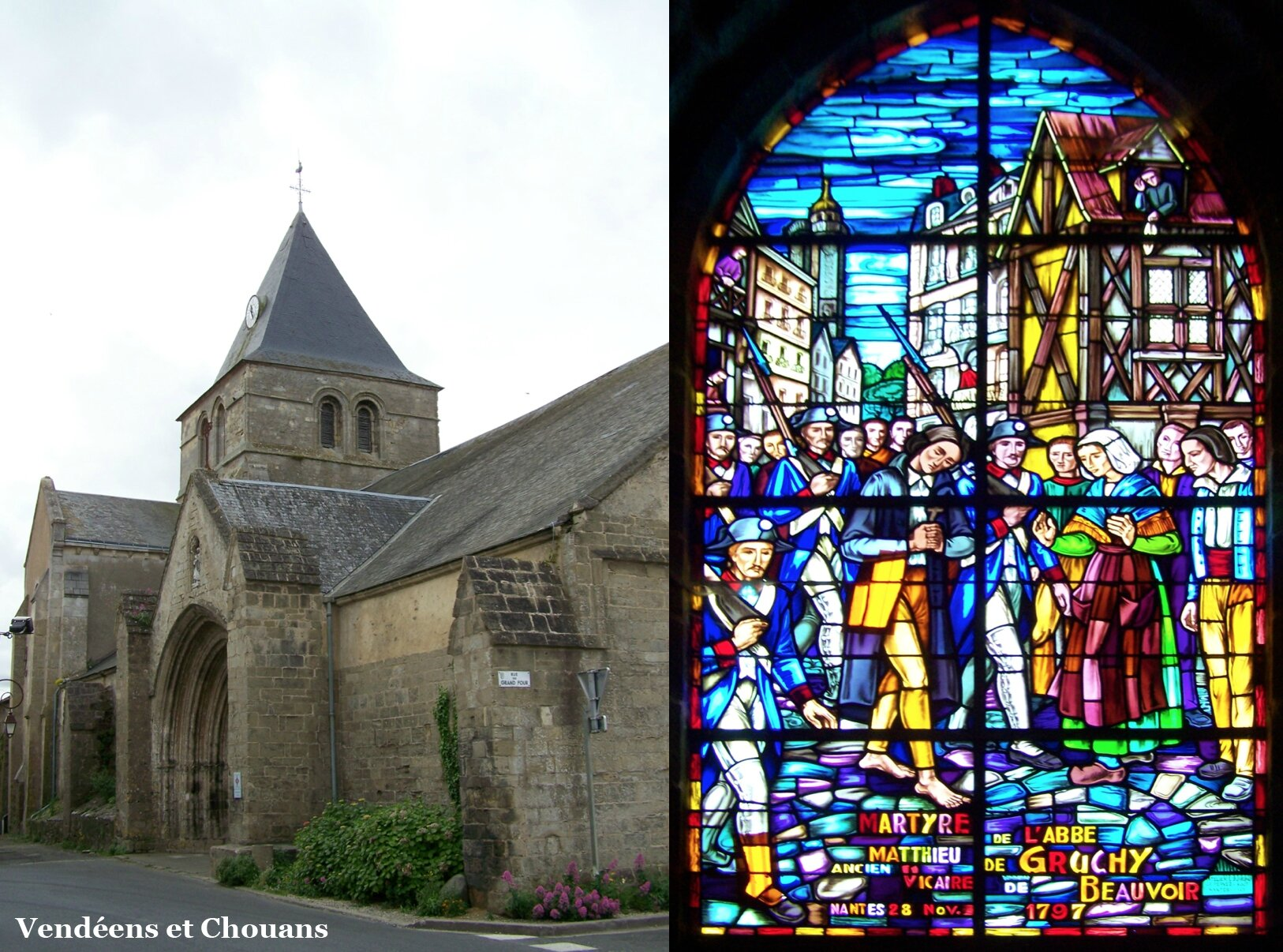 Beauvoir-sur-Mer (85) – Eglise paroissiale (1997)