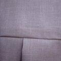 Ciré AGLAE en lin enduit rose-parme fermé par 2 pressions dissimulés sous 2 boutons recouverts (1)