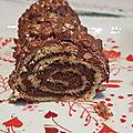 ...roulé au chocolat de cyril lignac dans tous en cuisine...