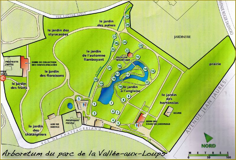 Plan-Parc-de-la-Vallée-aux-Loups