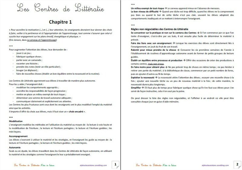 Notes de lecture - CL 1 (LaCatalane)
