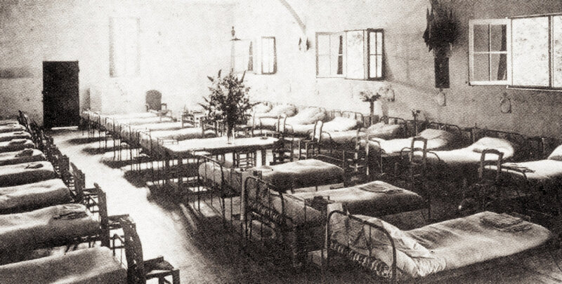 Hopital militaire Monrepo sépia 04 (2)