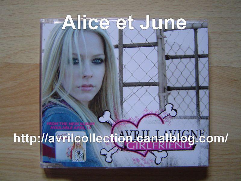 Maxi CD Girlfriend-version australienne (2007)