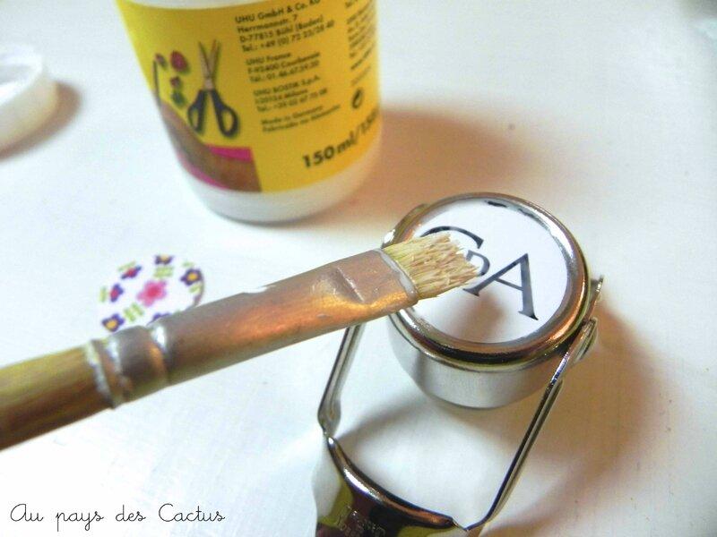 Bouchon de bouteille DIY Au pays des Cactus 3