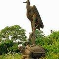 Statue de la Grue Jaune