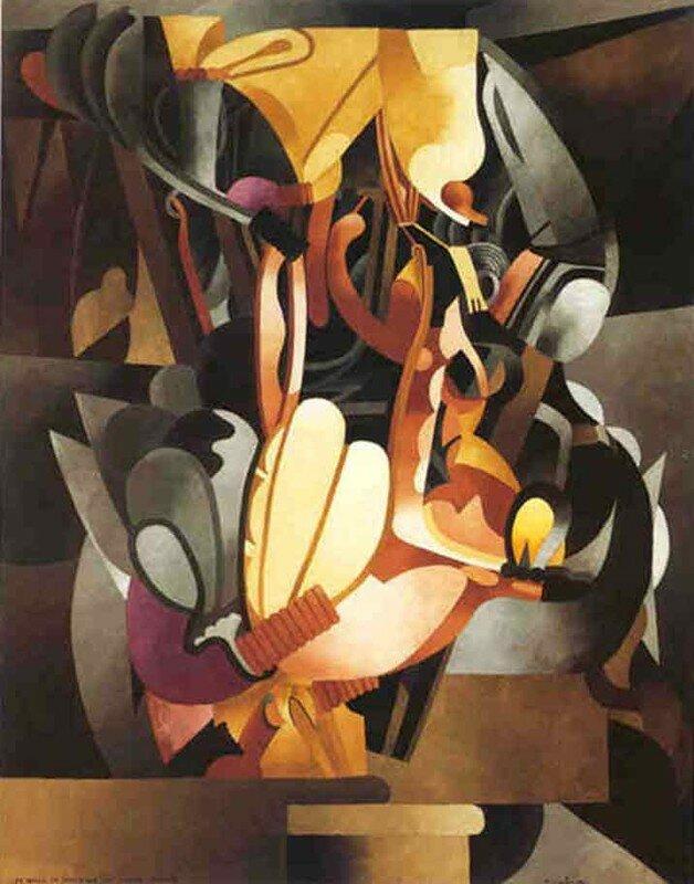 Francis Picabia, Je revois en souvenir ma chère Udnie, 1913-14