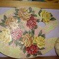 Palette de peintre en bois